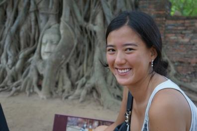 Lisa em Ayutthaya