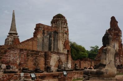 Ruínas de Ayutthaya
